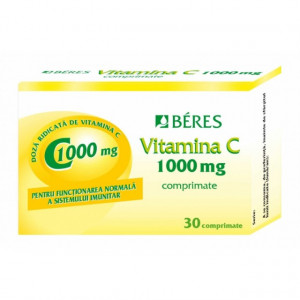 Beres Vitamina C 1000 mg x 30 cpr