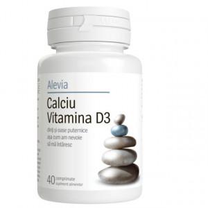 Calciu + Magneziu + Zinc - 40 cpr