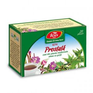 Ceai Prostata G74 - 20 pl Fares