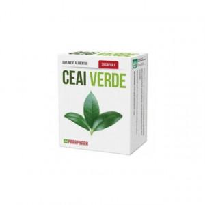 Ceai verde 30 cps - antioxidant