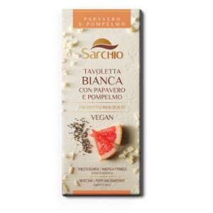 Ciocolata vegana fara gluten cu seminte mac si grapefruit eco-bio - 80 g