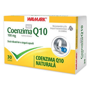 Coenzima Q10 Max 100mg - 30 cps