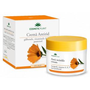 Crema antirid cu galbenele si vitaminele A, E, F si pantenol - 50 ml