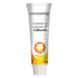 Crema cu extract de galbenele Santaderm - 50 ml