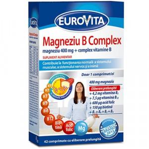 Eurovita Magneziu B Complex - 42 cpr