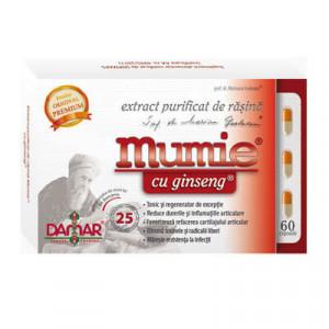 Extract purificat de rasina Mumie cu ginseng - 60 cps