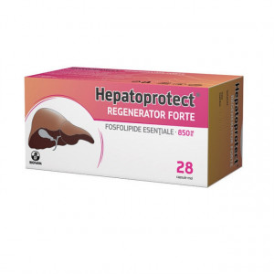 Hepatoprotect Regenerator Forte 850 mg - 28 cps moi