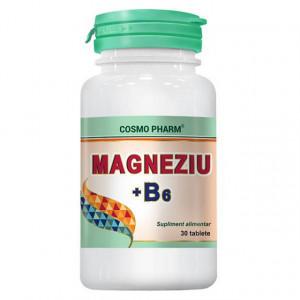 Magneziu + B6 - 30 cps