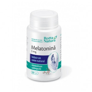 Melatonina 3 mg - 20 cps