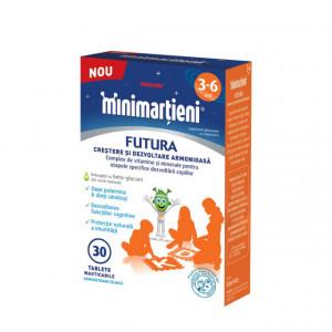 Minimartieni Futura 3-6 ani - 30 tablete