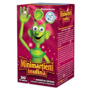 Minimartieni Inulina Capsuni - 30 cps