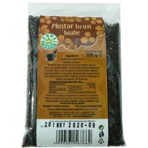 Mustar Brun boabe - 100 g Herbavit
