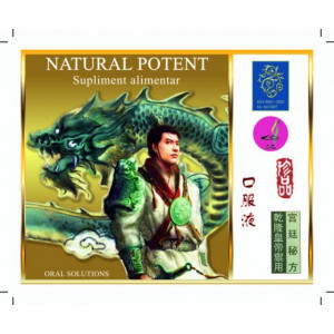 Natural Potent - 4 fiole