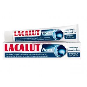 Pasta de dinti Lacalut Flora - 75 ml
