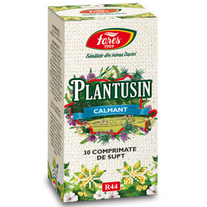 Plantusin calmant, R44 - 30 cpr Fares