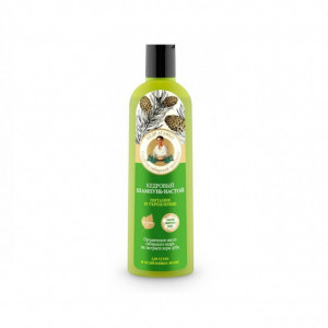 Sampon nutritiv cu ulei de cedru si extract de stejar - 280 ml Bunica Agafia