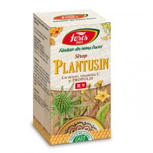 Sirop Plantusin cu miere si propolis R9 - 100 ml Fares
