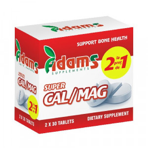Super Cal/Mag - 30 cpr 1+1 Gratis