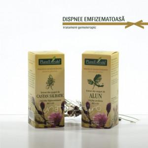 Tratament naturist - Dispnee emfizematoasa (pachet)