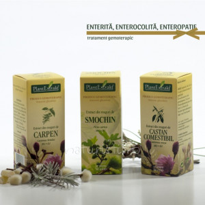 Tratament naturist - Enterita, enterocolita, enteropatie (pachet)