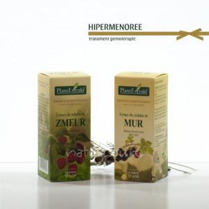 Tratament naturist - Hipermenoree (pachet)
