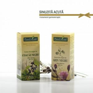 Tratament naturist - Sinuzita acuta (pachet)