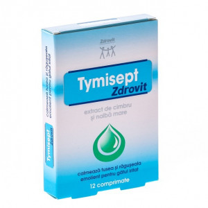 Tymisept  - 12 cpr