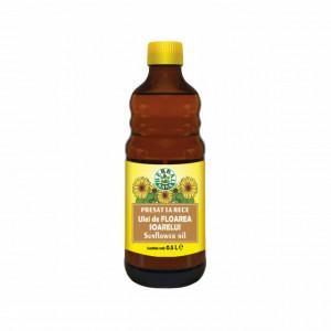 Ulei de floarea soarelui, presat la rece - 0,5 L - Herbal Sana