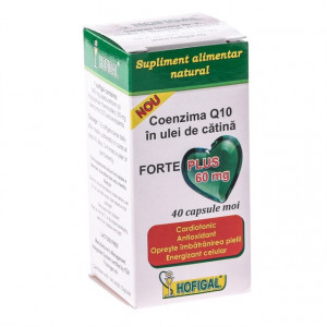 Coenzima Q10 Ulei Catina Forte Plus 60 mg 40 cps moi Hofigal