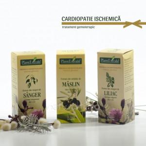 Tratament naturist - Cardiopatie ischemica (pachet)