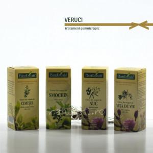 Tratament naturist - Veruci (pachet)