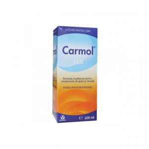 Carmol Flu lotiune frectie - 100 ml