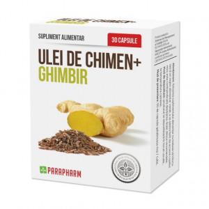 Ulei de chimen + ghimbir - 30 cps