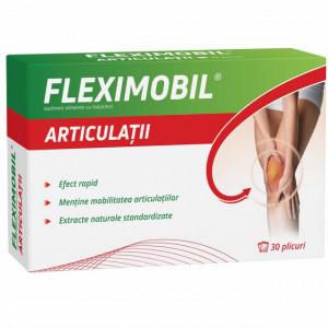 Fleximobil Articulatii 30 dz + Gel emulsionat 100 gr gratis