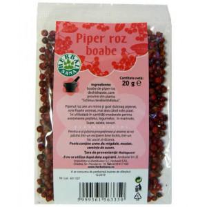 Piper roz boabe - 20 g Herbavit
