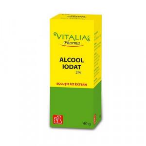 Alcool Iodat 2% - 40g