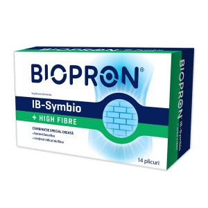 Biopron IB-Symbio + High Fibre - 14 dz