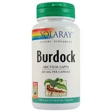 Burdock (Brusture) 425mg - 100 capsule vegetale