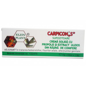 Carpicon S supozitoare 1,5gr*10 (CUT)
