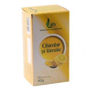 Ceai ghimbir cu lamaie - 20 dz Larix