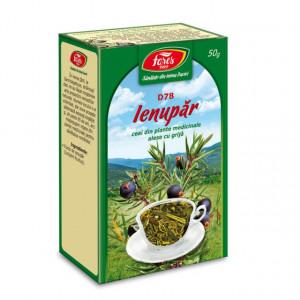 Ceai Ienupar - Fructe D78 - 50 gr Fares