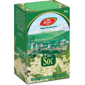Ceai Soc - Flori R42 - 50 gr Fares