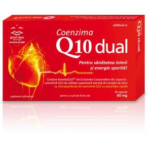 Coenzima Q10 Dual Barnys 60 mg - 30 cps