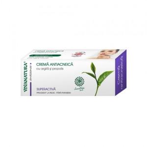 Crema Antiacneica Superactiva - 20 ml Vivanatura