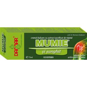 Crema-balsam cu extract purificat de rasina Mumie cu sunghit - 75 ml