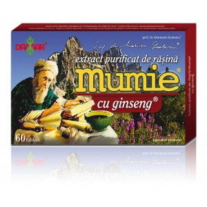 Extract purificat de rasina Mumie cu ginseng - 60 tbl