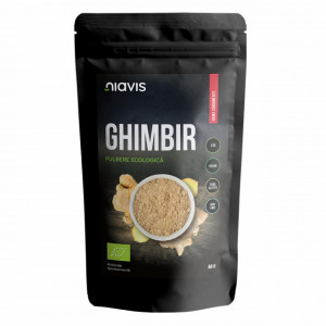 Ghimbir pulbere ecologica BIO - 60 g