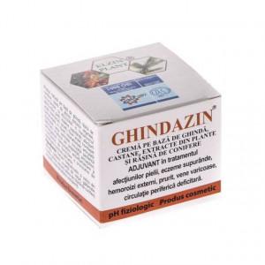 Ghindazin crema ghinda si castane - 50 ml