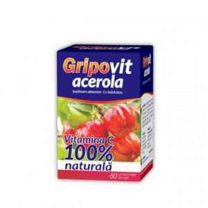 Gripovit acerola de supt - 60 cpr