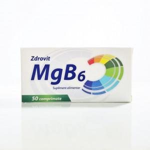 Magneziu + B6 - 50 cpr